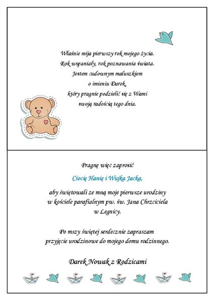 śmieszne Teksty Zaproszeń Na Urodziny Dziecka Hylenmaddawardscom
